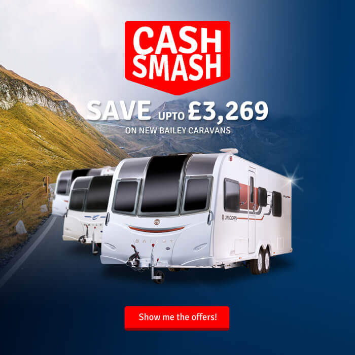 save 3269 on bailey caravans