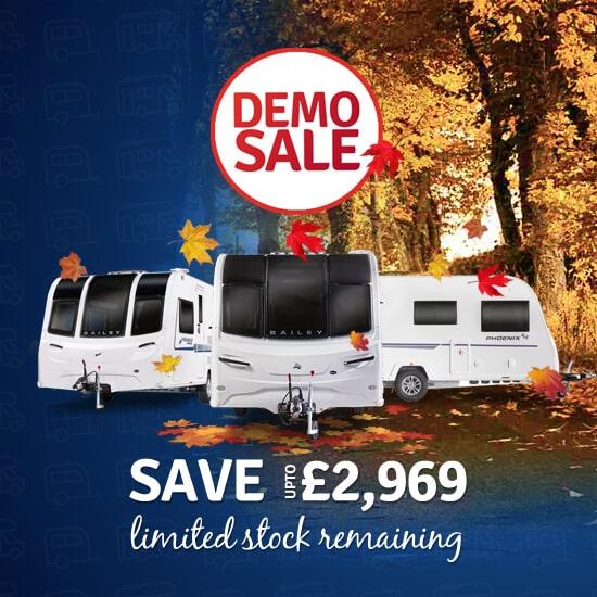 bailey caravans demo sale offers