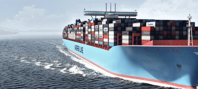 export caravan in shipping container
