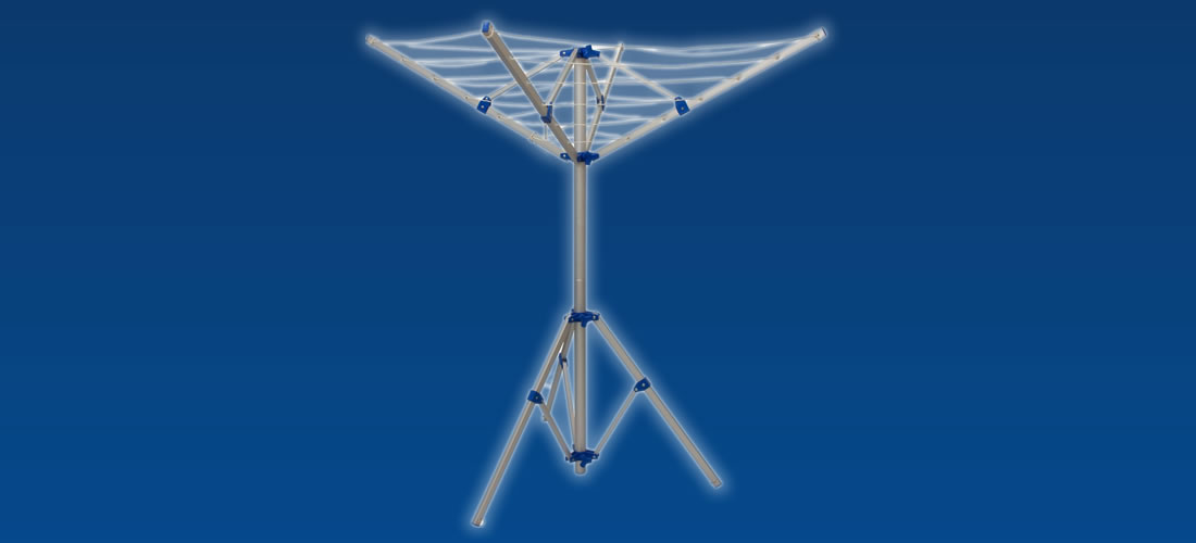 Crusader 4 arm clothes airer