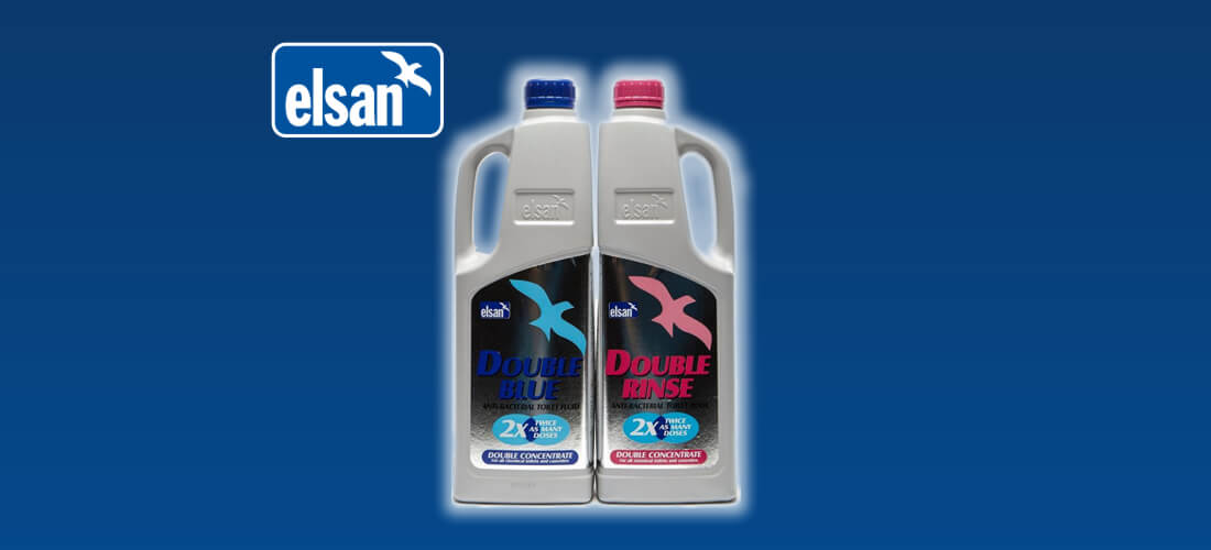 Elsan pack of 2 caravan toilet fluid