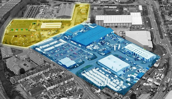 Bailey of Bristol site expansion