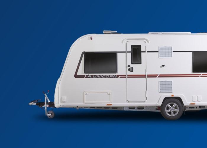 single axle caravan service